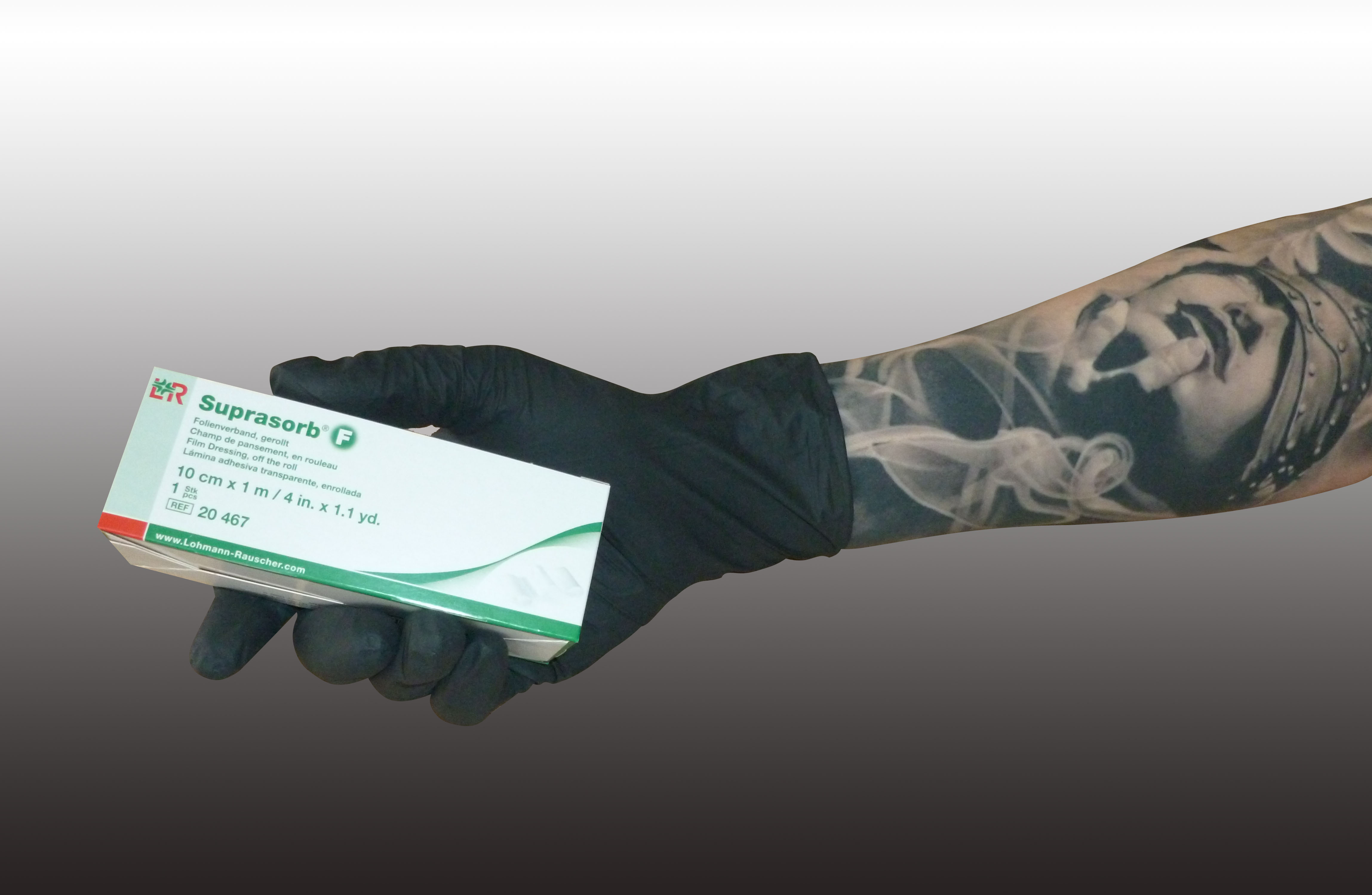 Suprasorb f 24 95 verbandsmaterialien tattoo verband for Tattoo shops 24 hours