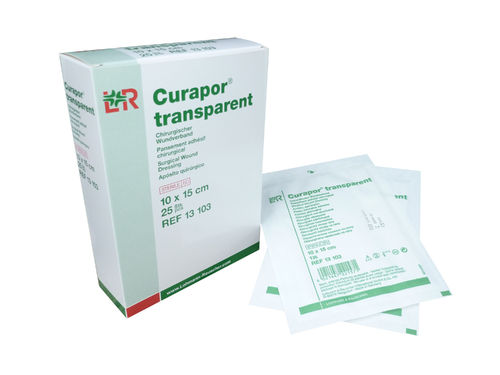 Curapor Wundverband transparent 10x 15cm