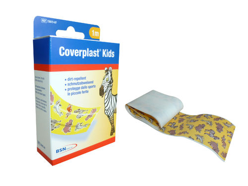 Coverplast® Kids 6 cm x 1 m Rolle