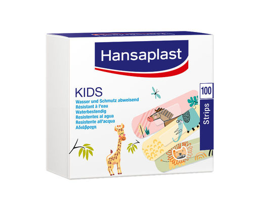 Hansaplast Kids 100 Stripes 19 x 72 mm